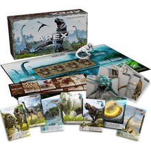 Apex Theropod Deck-Building Game Components
