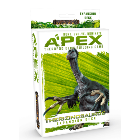Apex Theropod Deck-Building Game Therizinosaurus Expansion Deck