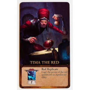 Apotheca Tima the Red Promo Card