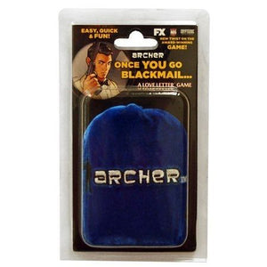 Archer Once You Go Blackmail... Clamshell