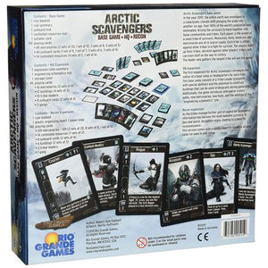 Arctic Scavengers Base Game+HQ+Recon Box