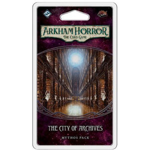 Arkham Horror The Card Game – The City of Archives Mythos Pack