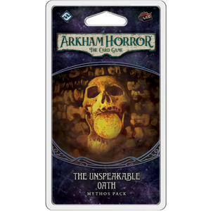 Arkham Horror The Card Game – The Unspeakable Oath Mythos Pack