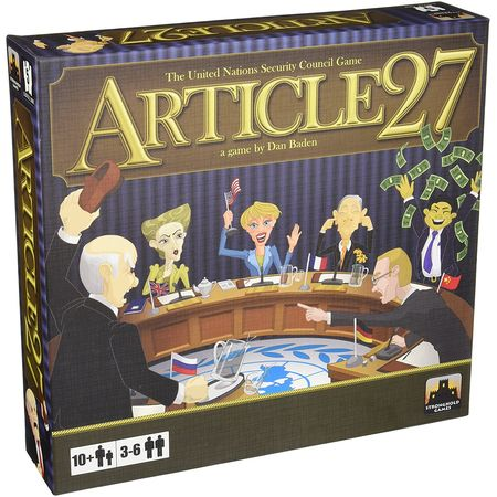 Article 27 The UN Security Council Game