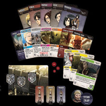 Attack on Titan Deck-Building Game Cards