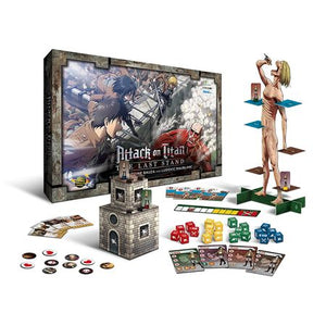 Attack on Titan The Last Stand Components