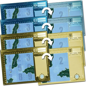 Captain Sonar New York Map