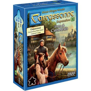 Carcassonne Expansion 1 – Inns & Cathedrals New Art
