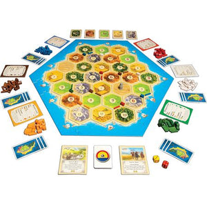 Catan 5-6 Player Extension Setup