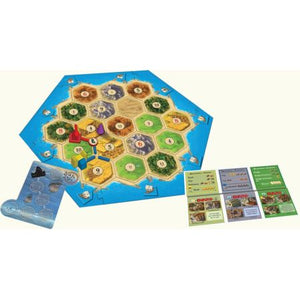 Catan Cities & Knights Components
