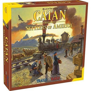 Catan Histories Settlers of America – Trails to Rails