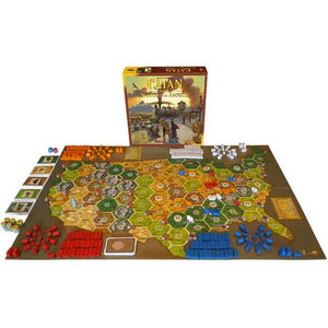 Catan Histories Settlers of America – Trails to Rails Components