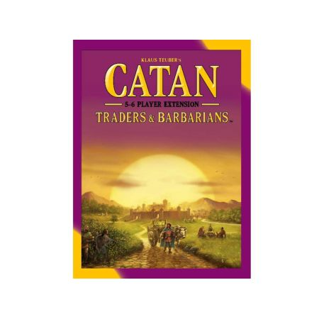 Catan Traders & Barbarians – 5-6 Player Extension