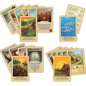 Catan Traders & Barbarians Cards