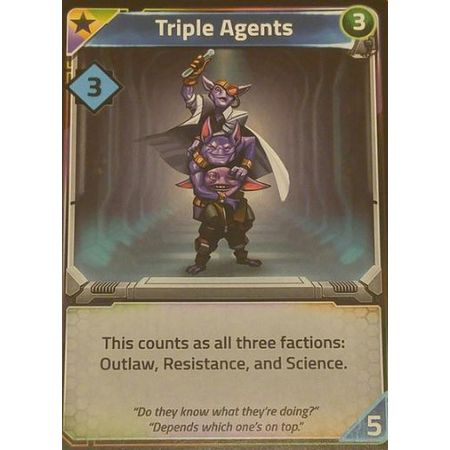 Clank! In! Space! Triple Agents