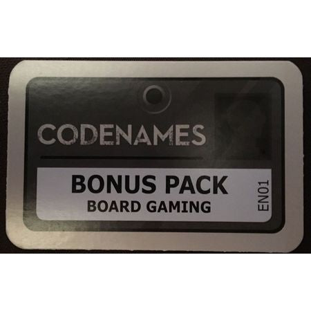 Codenames: Bonus Pack – Board Gaming (English)