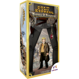 Colt Express Marshal & Prisoners