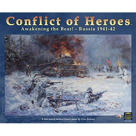 Conflict of Heroes Awakening the Bear! – Russia 1941-42