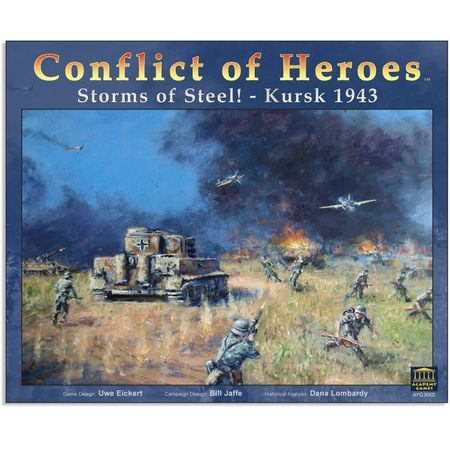 Conflict of Heroes Storms of Steel! – Kursk 1943 First