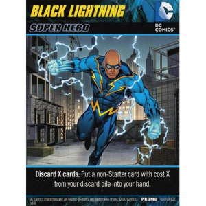 DC Comics Deck-Building Game Black Lightning