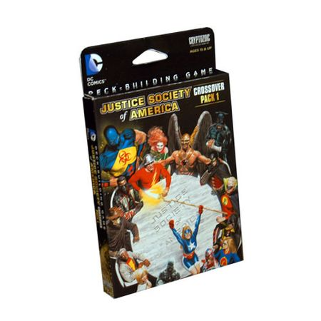 DC Comics Deck-Building Game Crossover Pack 1 – Justice Society of America