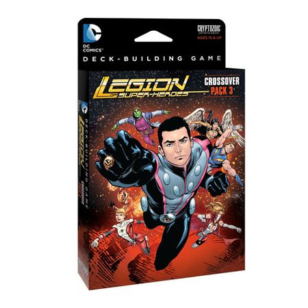 DC Comics Deck-Building Game Crossover Pack 3 – Legion of Super-Heroes