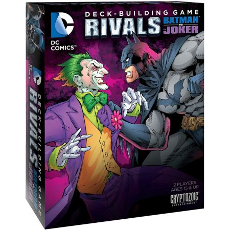 DC Comics Deck-Building Game Rivals – Batman vs The Joker