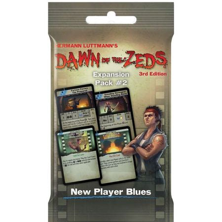 Dawn of the Zeds (Third edition) Expansion Pack #2 – New Player Blues Expansion