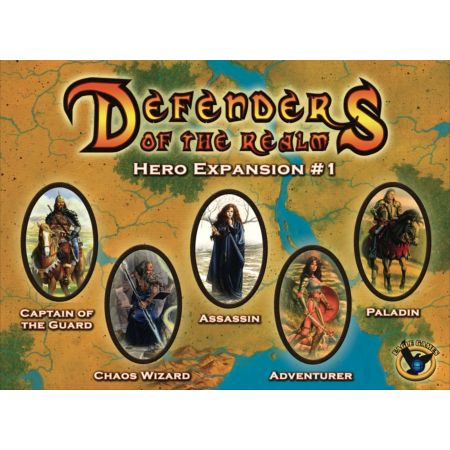 Defenders of the Realm Hero Expansion #1