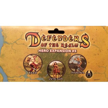 Defenders of the Realm Hero Expansion #5