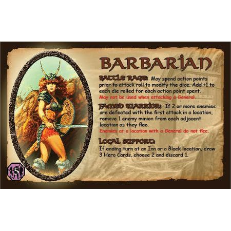 Defenders of the Realm The Barbarian