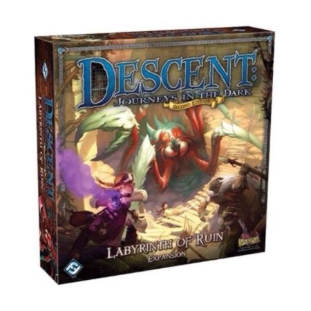 Descent Journeys in the Dark (Second Edition) – Labyrinth of Ruin