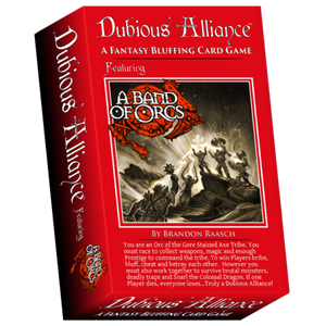 Dubious Alliance Fantasy Card Trading Game