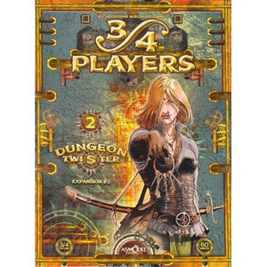 Dungeon Twister 34 Players Expansion