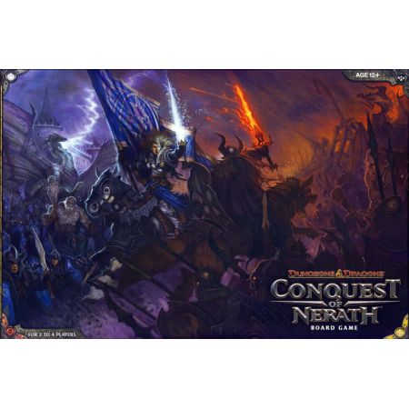 Dungeons & Dragons Conquest of Nerath Board Game