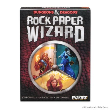 Dungeons & Dragons Rock Paper Wizard