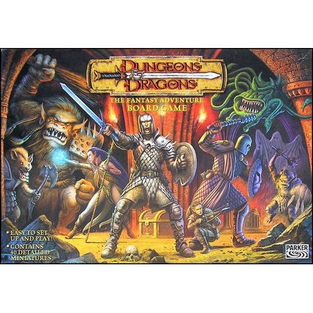 Dungeons & Dragons The Fantasy Adventure Board Game