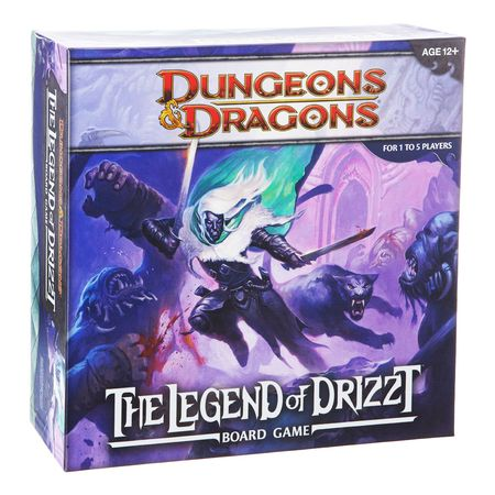 Dungeons & Dragons The Legend of Drizzt Board Game