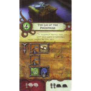 Elder Sign The Log of the Persephone – Promo Location