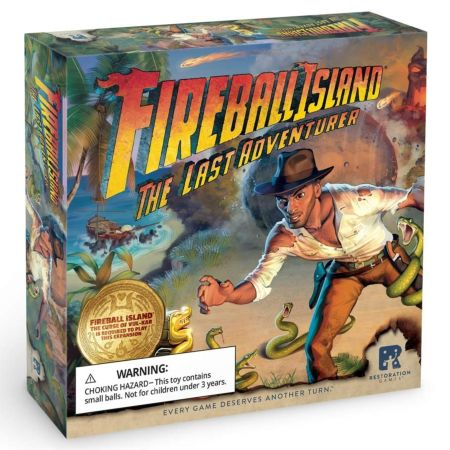 Fireball Island The Curse of Vul-Kar – The Last Adventurer