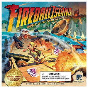 Fireball Island The Curse of Vul-Kar – Wreck of the Crimson Cutlass