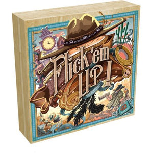 Flick 'em Up! Wood Box