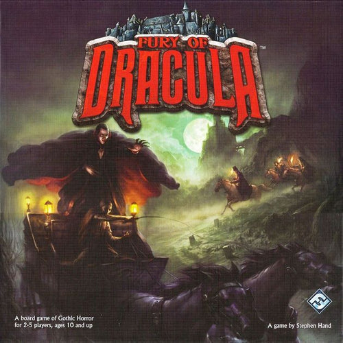Fury of Dracula (second edition)