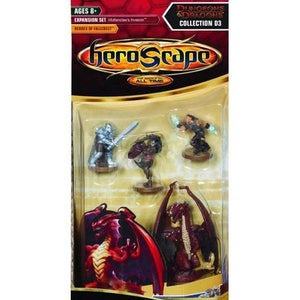 Heroscape Expansion Set D3: Moltenclaw's Invasion Heroes of Fallcrest