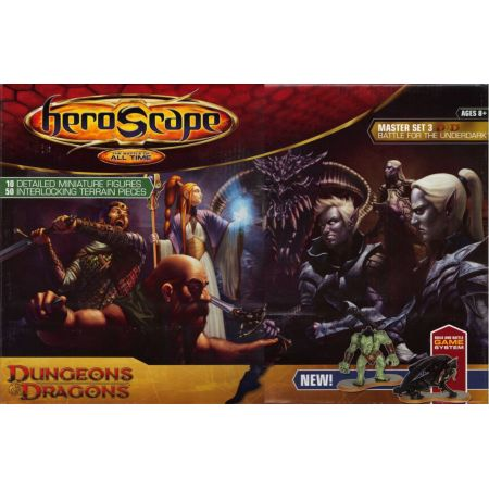 Heroscape Master Set  Battle for the Underdark