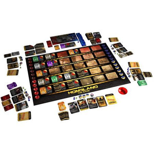 Homeland The Game Components