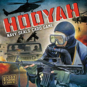 Hooyah Navy Seals Card Game