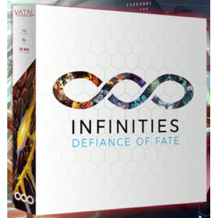Infinities: Defiance of Fate board game