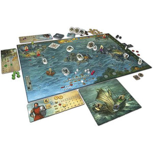 Legends of Andor Journey to the North Components