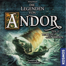 Legends of Andor Journey to the North German